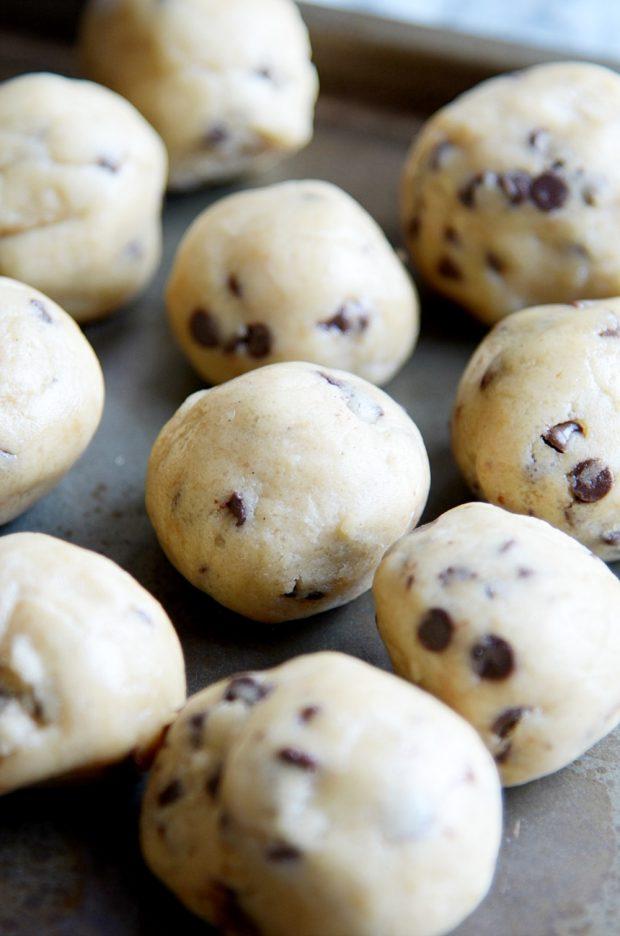 Quick easy chocolate chip cookie recipe