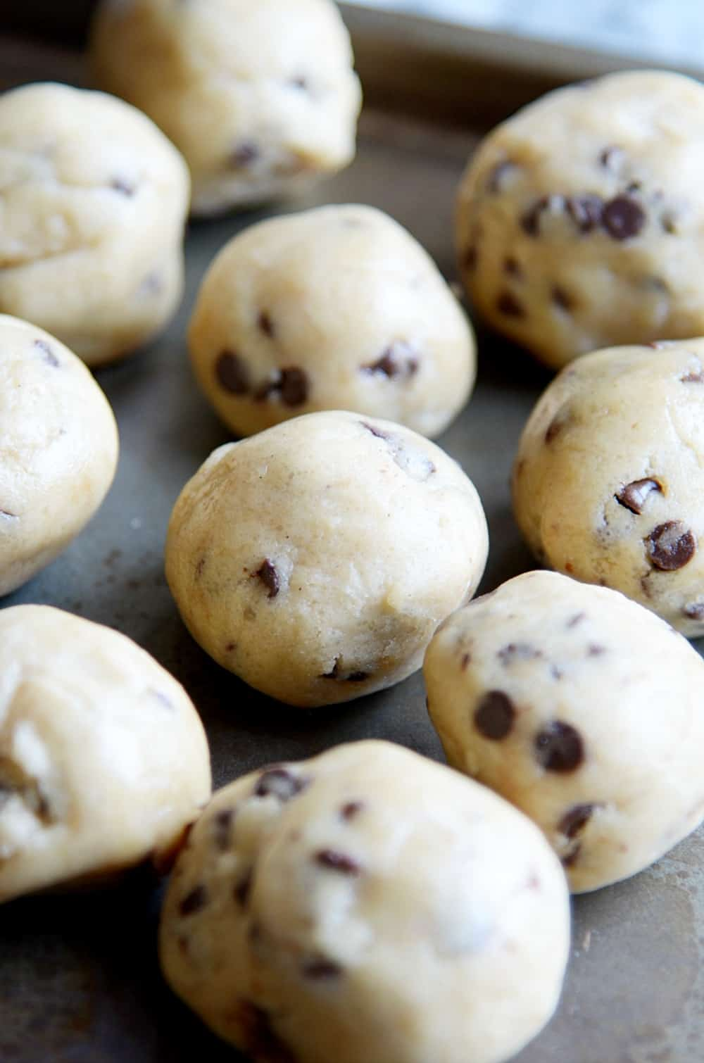 Quick Easy Chocolate Chip Cookies