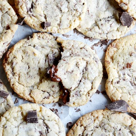 It's easy to see why Epicurious ranked these as their favorite chocolate chip cookies!