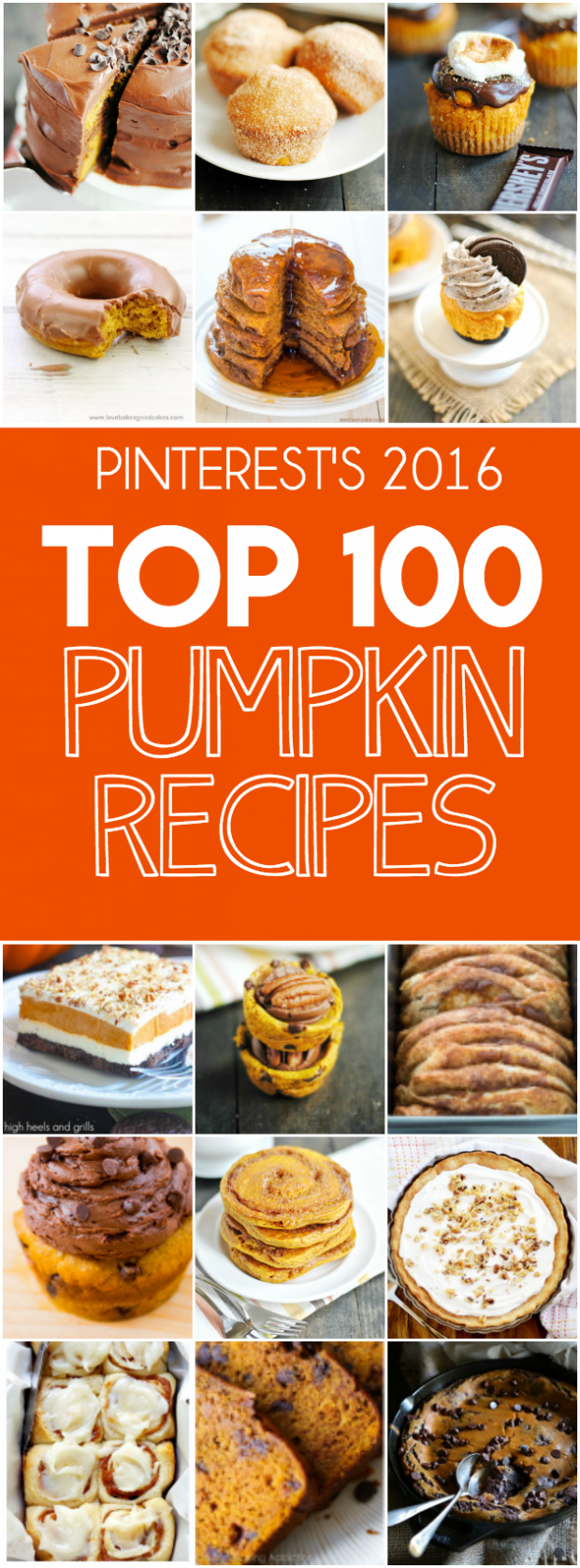100 of the yummiest and coziest pumpkin recipes to go on your must-make recipe list for this Fall!