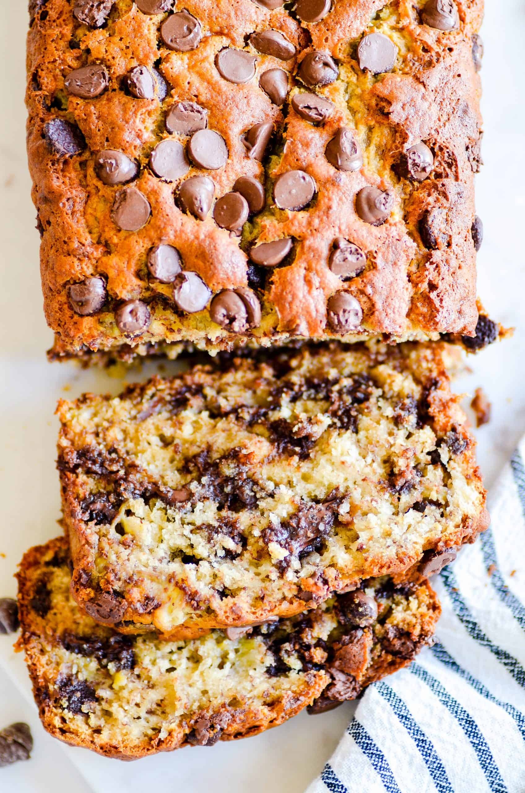 Mom S Famous Chocolate Chip Banana Bread Recipe