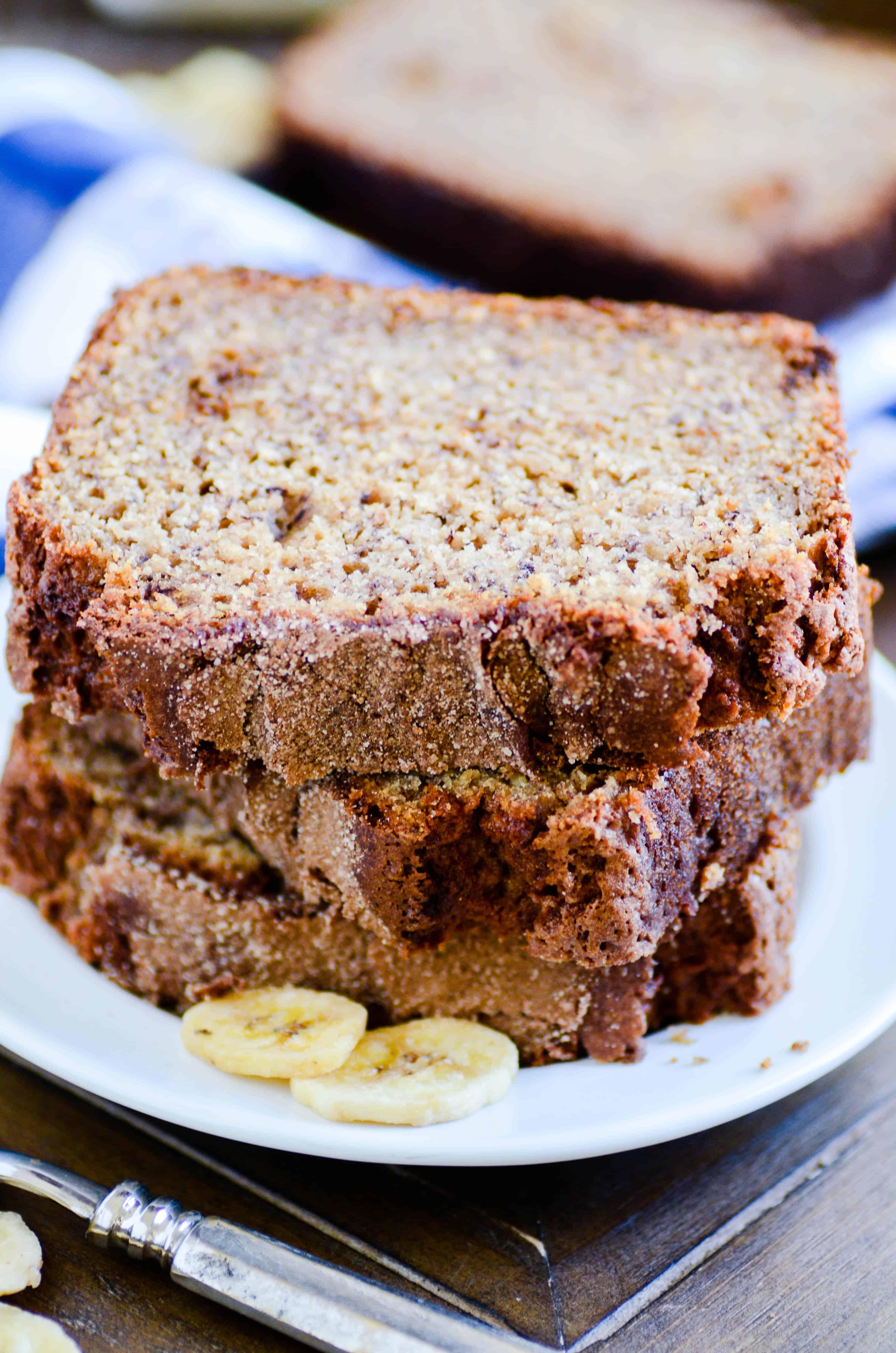 Whole Grain Banana Bread - The 2018 Recipe of the Year