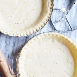 Follow these super easy instructions for a butter, flaky, delicious homemade pie crust.