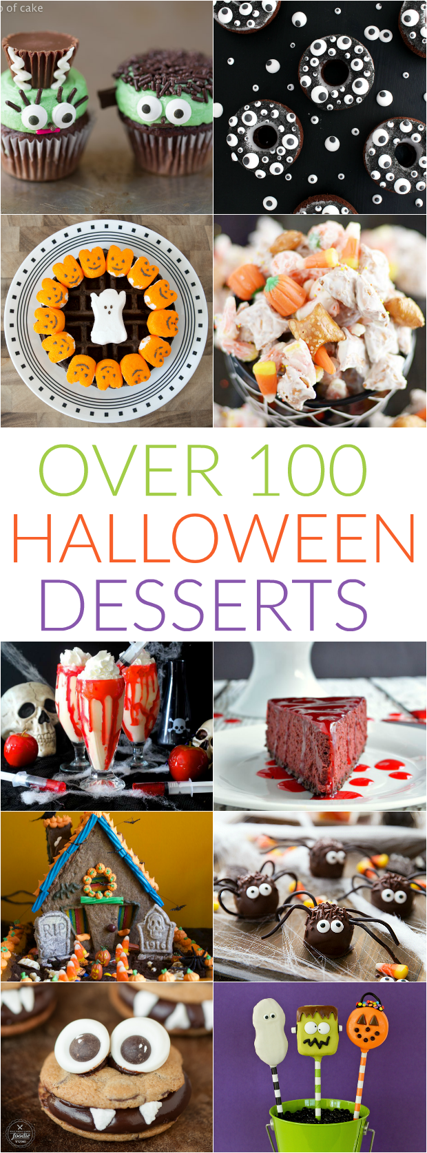 100+ Halloween Recipes