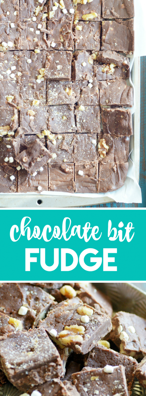 Our favorite family recipe for chocolate fudge. It's insanely delicious, and I've made it even easier to make!