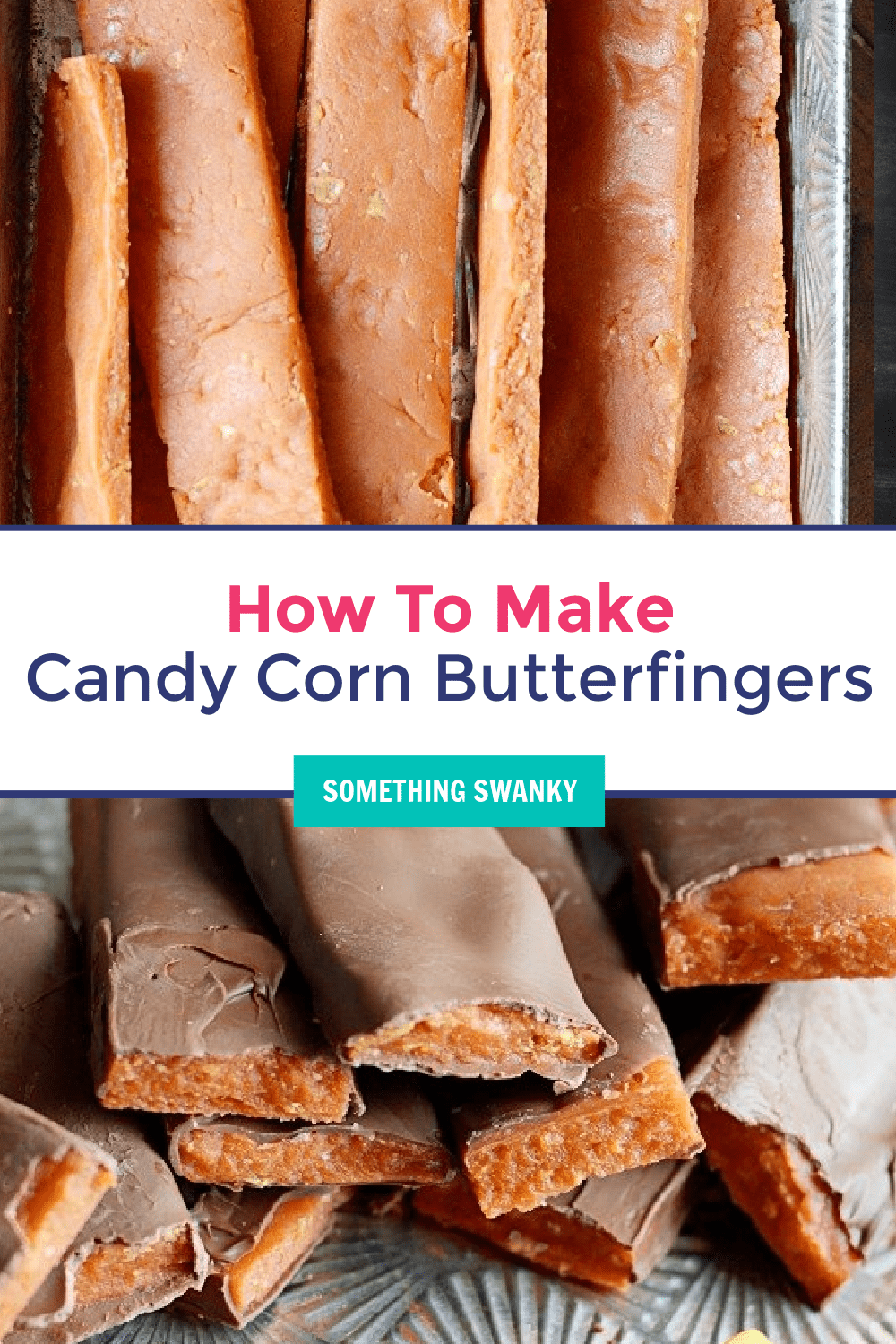 How to Make Homemade Butterfingers using Candy Corn