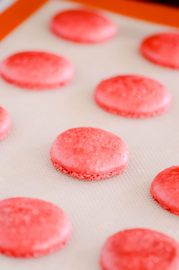 These Red Velvet Macarons are absolutely fool-proof. I tested them over and over using all the classic blunders, and they still turned out just fine!