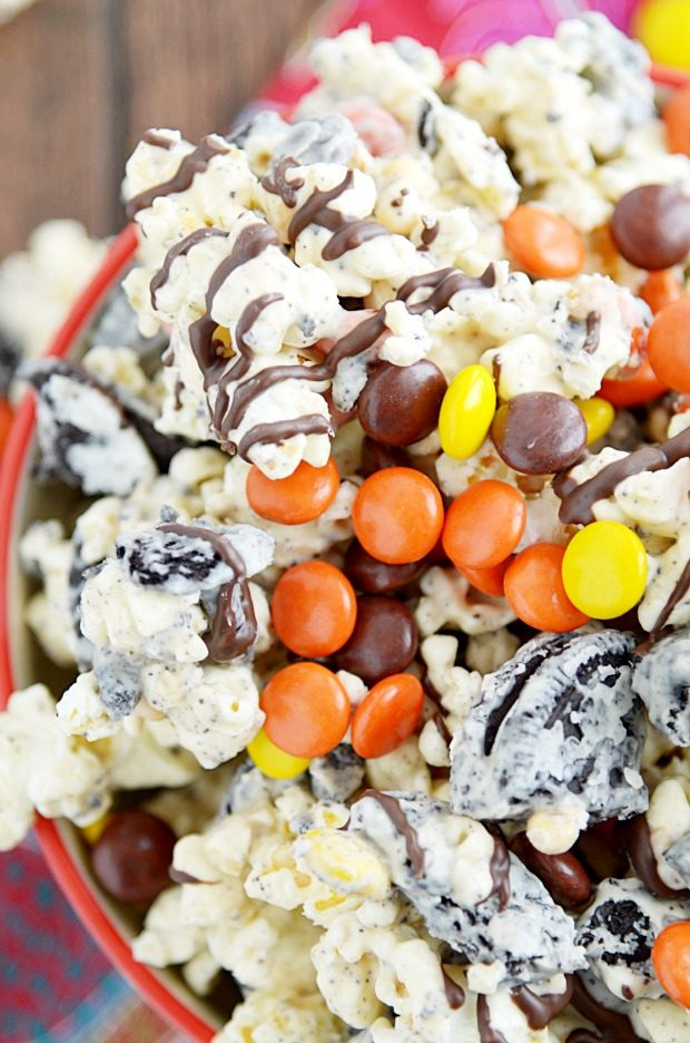 Ultimate Peanut Butter Popcorn