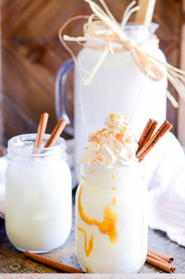 Horchata is THE drink to make this summer! It combines rice, almonds, cinnamon, and a little natural stevia for a refreshing, family-friendly summer drink.