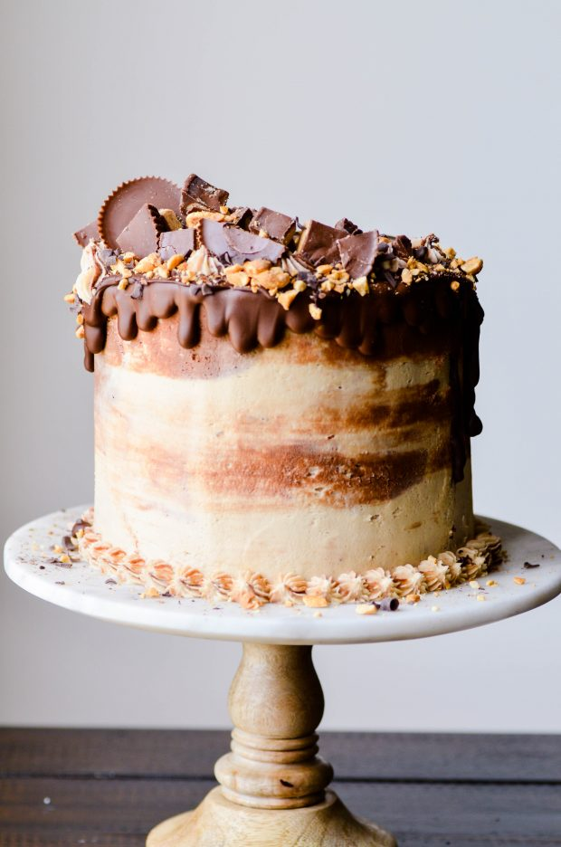 Peanut Butter Cheesecake Cake