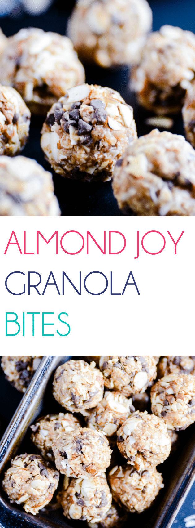 These bite-sized treats pack in the healthy fats and wholesome grains little ones need to start the day with lasting energy. Plus, they taste like Almond Joy cookies!