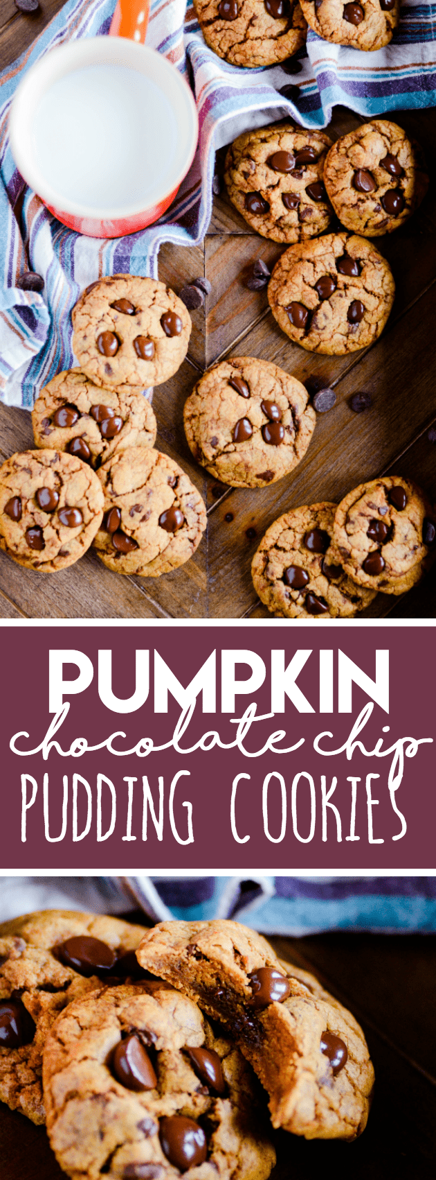 These pumpkin pudding cookies are the BEST pumpkin cookies on the planet!