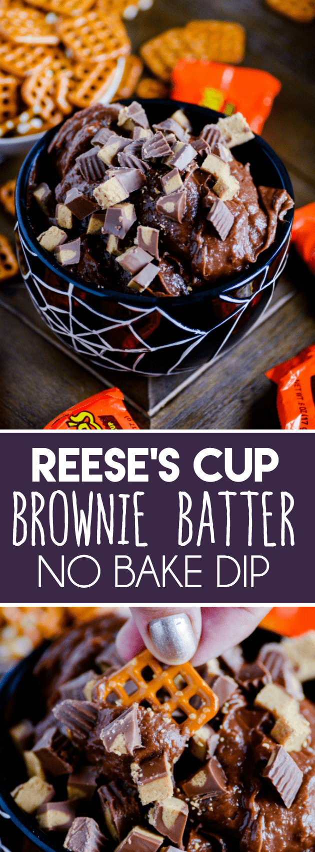 If you love brownie batter, this is the recipe for you!
