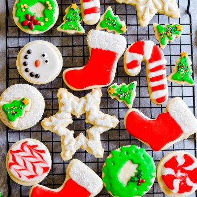 """Now it's time to GENTLY roll out the dough. I emphasize """"gently,"""" because sugar cookie dough needs to be handled with a little TLC. It's sort of like a pie crust, and it tends to crack or break if you're too rough with it."""