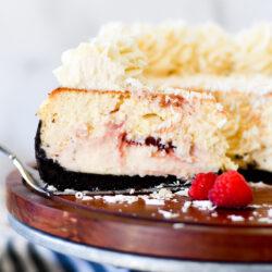 White Chocolate Raspberry Cheesecake Recipe
