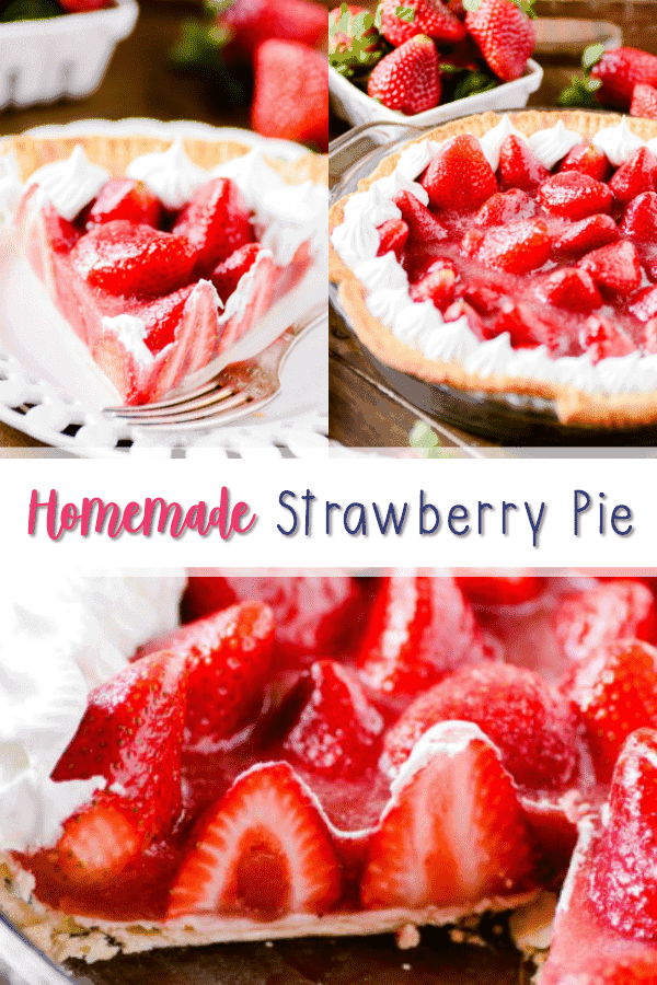 A homemade strawberry pie filling is easier than you think! And SO good :)
