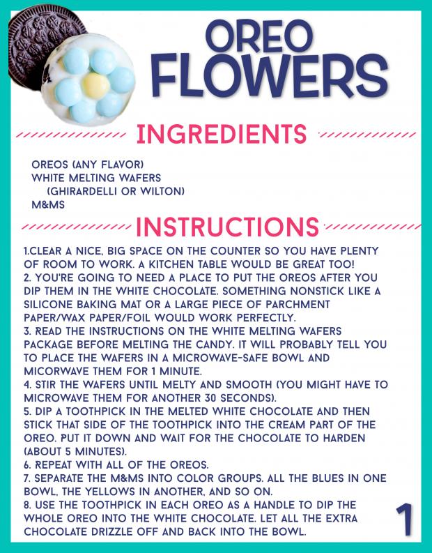 Recipe Card for Kids