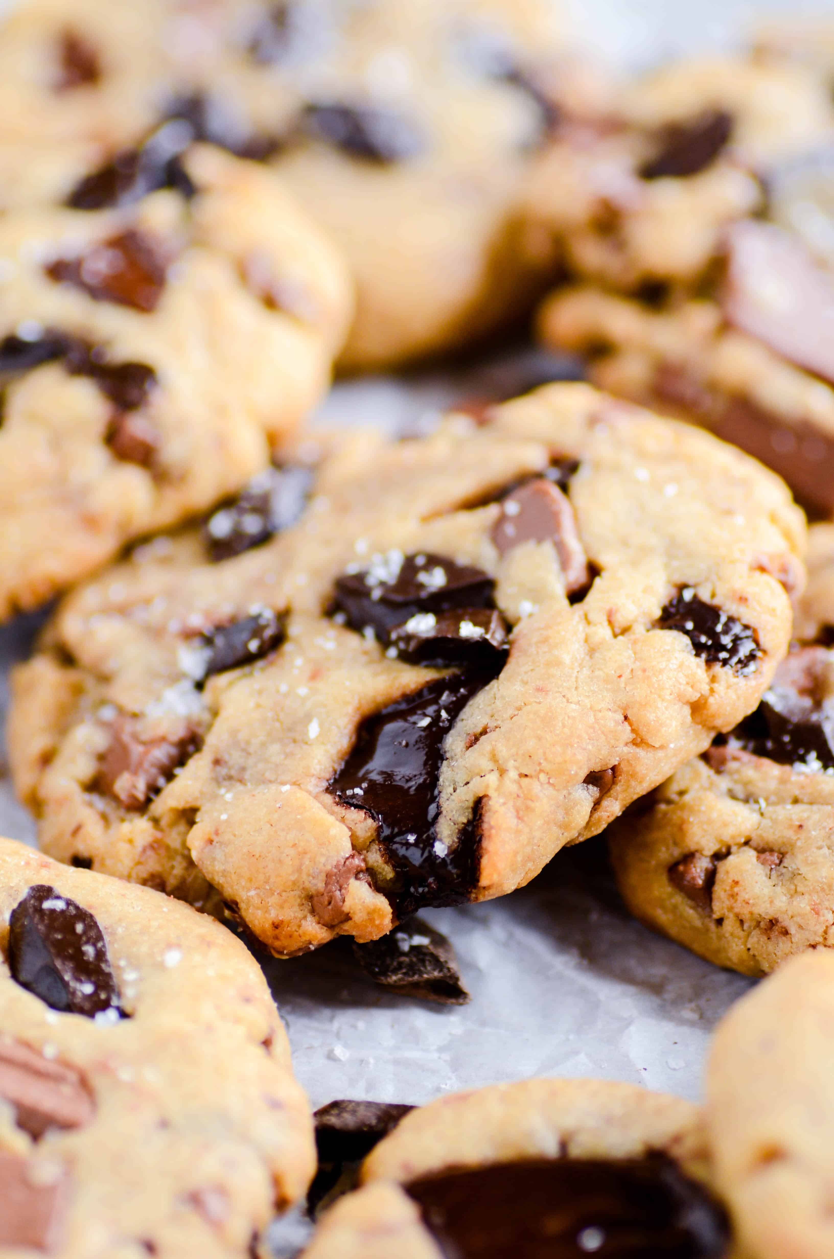 Thick & Chewy Chocolate Chunk Peanut Butter Cookies