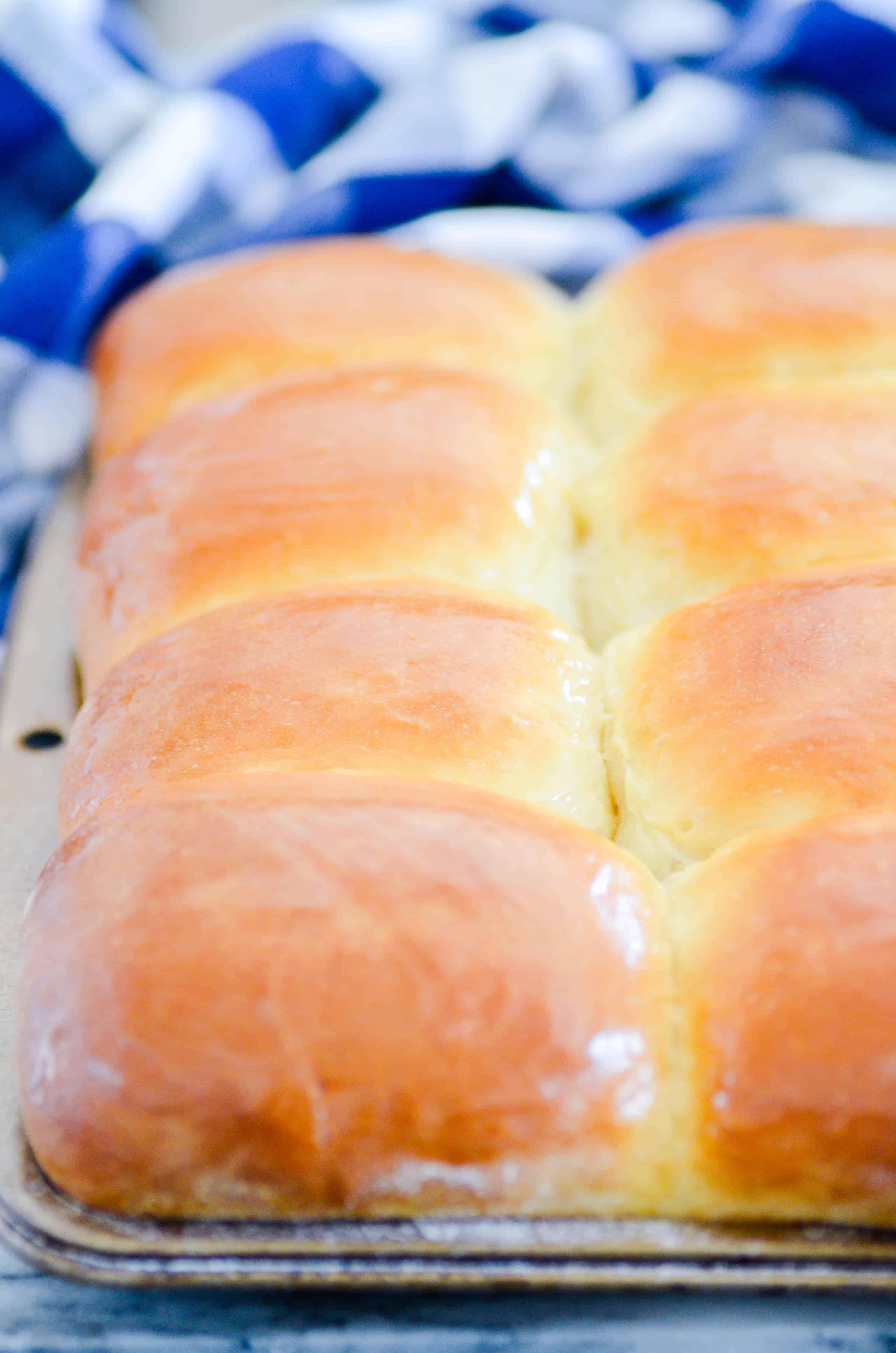 These dinner rolls are soft as pillows and perfectly brushed with melted butter. If you're looking for the perfect roll recipe, you've come to the right place!