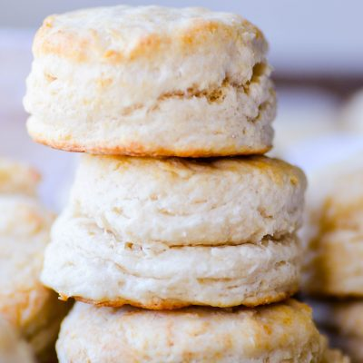 Thanks to the use of shortening, yeast, and baking powder-- you seriously can't mess these up!