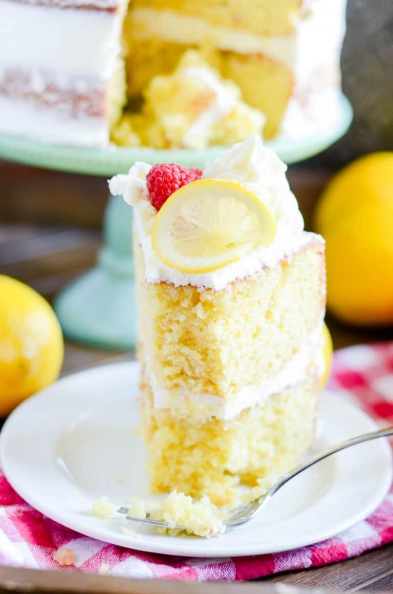 Hummingbird Lemon And Poppyseed Cake