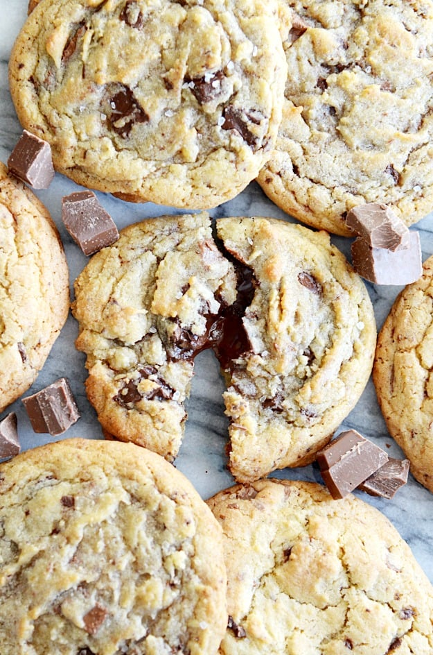 Chewy Double Chocolate Chunk Cookies