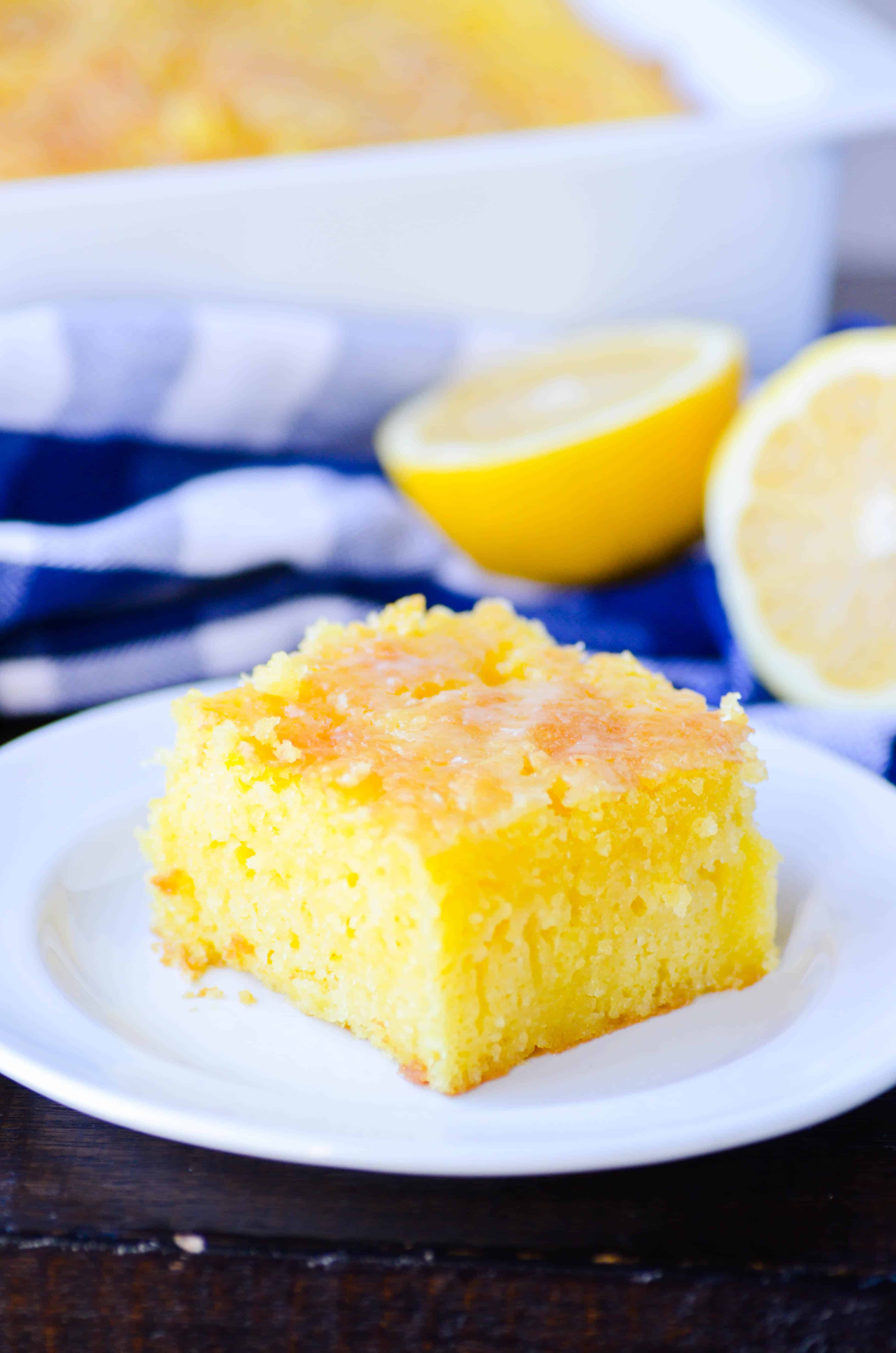 Lemon Jell-O Cake