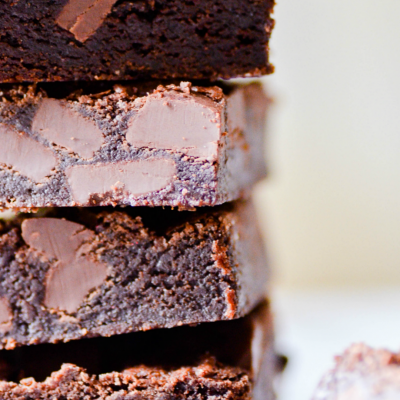 These Super Fudge Brownies are warm and gooey right out of the oven. But if you can wait until the next day, you'll see where they get their name-- it's like eating a piece of brownie fudge!