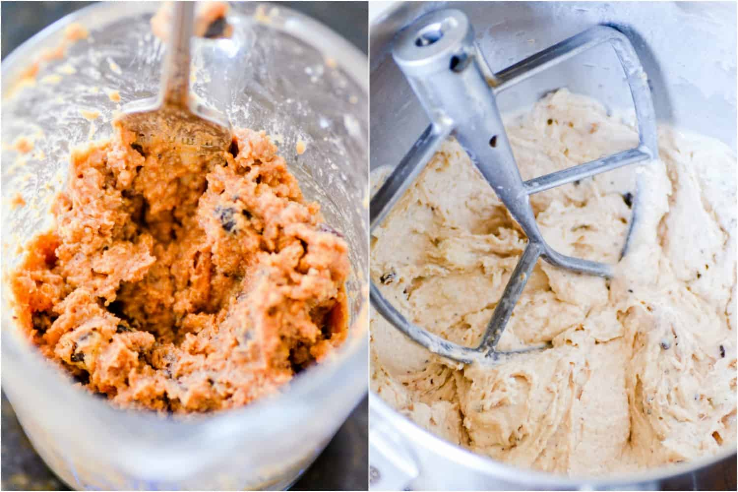 This Semi-Homemade Chocolate Chip Cookie Ice Cream is so easy to make and even better than cookie dough ice cream-- I promise!