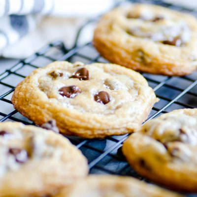 Coconut Oil Chocolate Chip Cookies Recipe Video