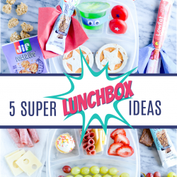 With creative lunchbox ideas like The Hungry Caterpillar, Super Heroes, and the Jungle, lunch time will never be boring again!