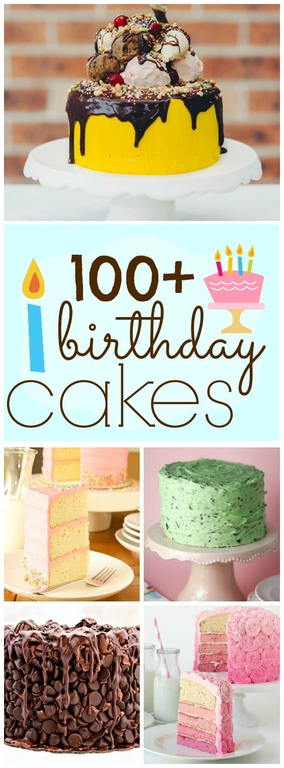 100+ IMPRESSIVE BIRTHDAY CAKES