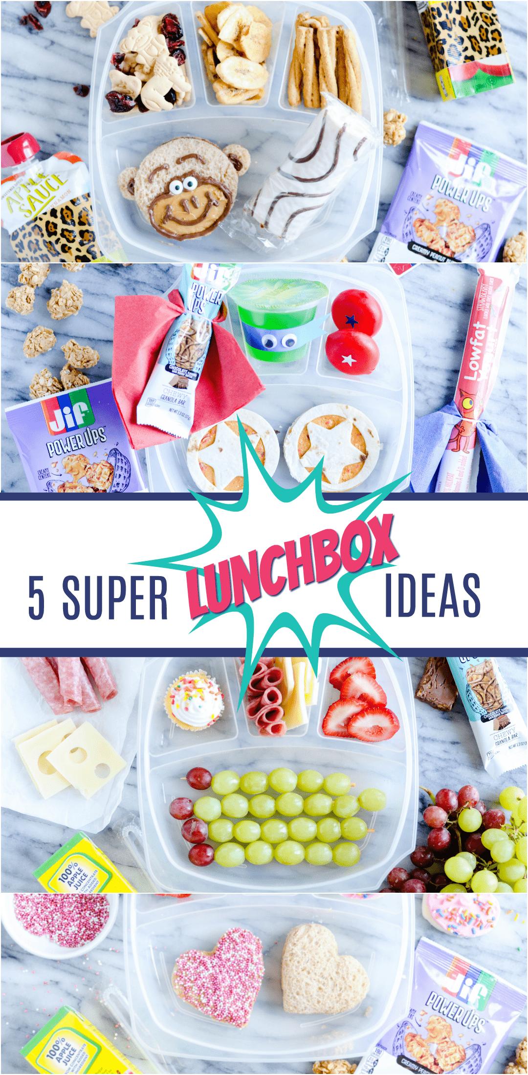 5 Super Creative Lunchbox Ideas