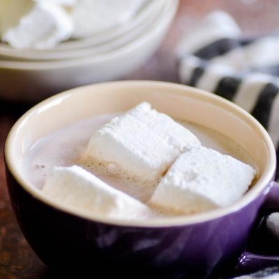 A simple recipe for Homemade Marshmallows with step-by-step photos and instructions.