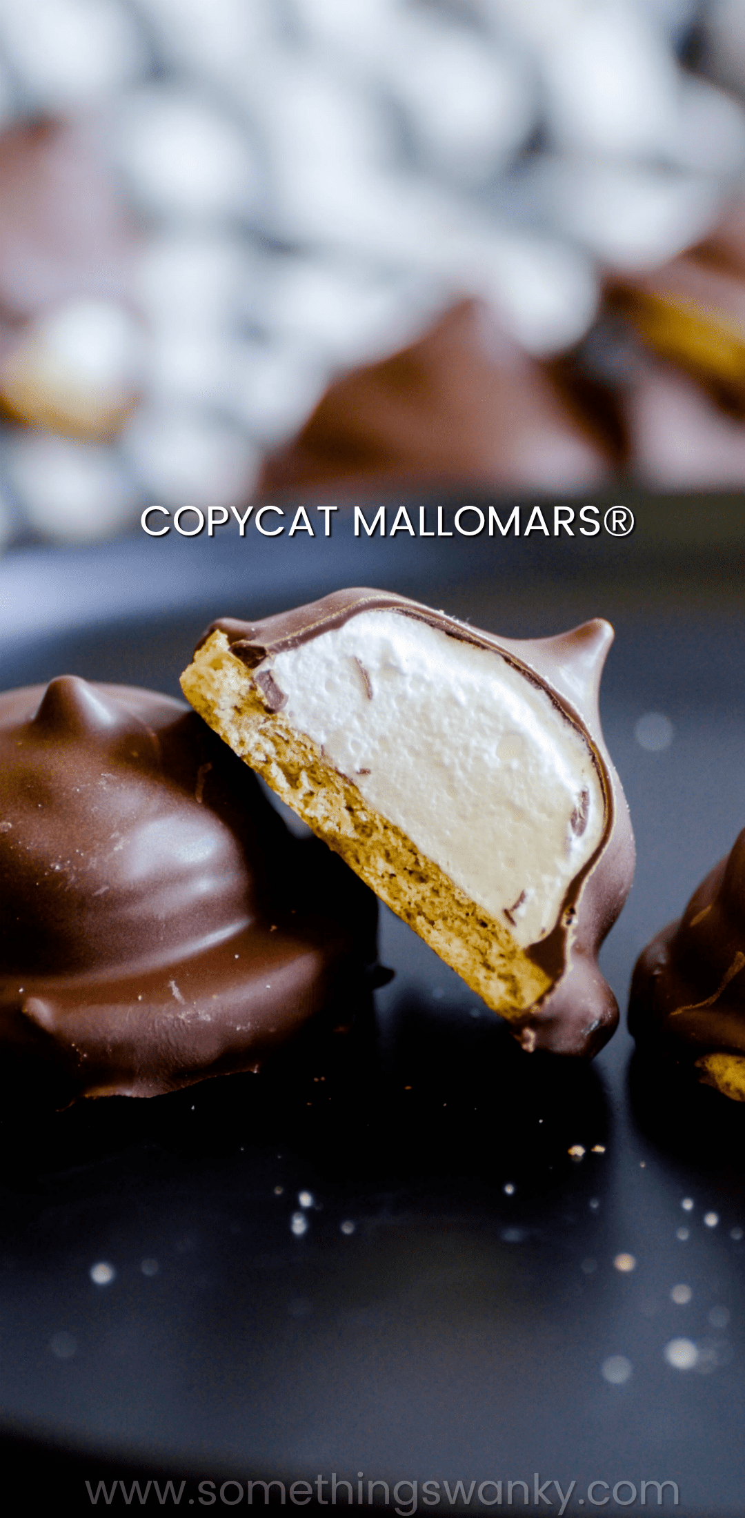 These Copycat Mallomars became an immediate favorite in our house! Soft, homemade marshmallow on top of a graham cracker and covered in chocolate