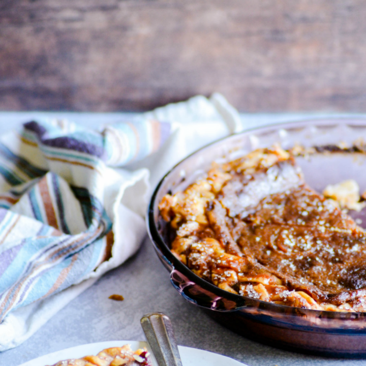 This Salted Honey Custard Pie brings a little something different to the Thanksgiving table.