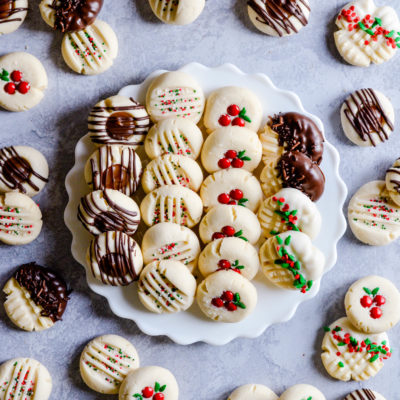 This recipe for melt-in-your-mouth shortbread is an absolute necessity for the holiday baking season.