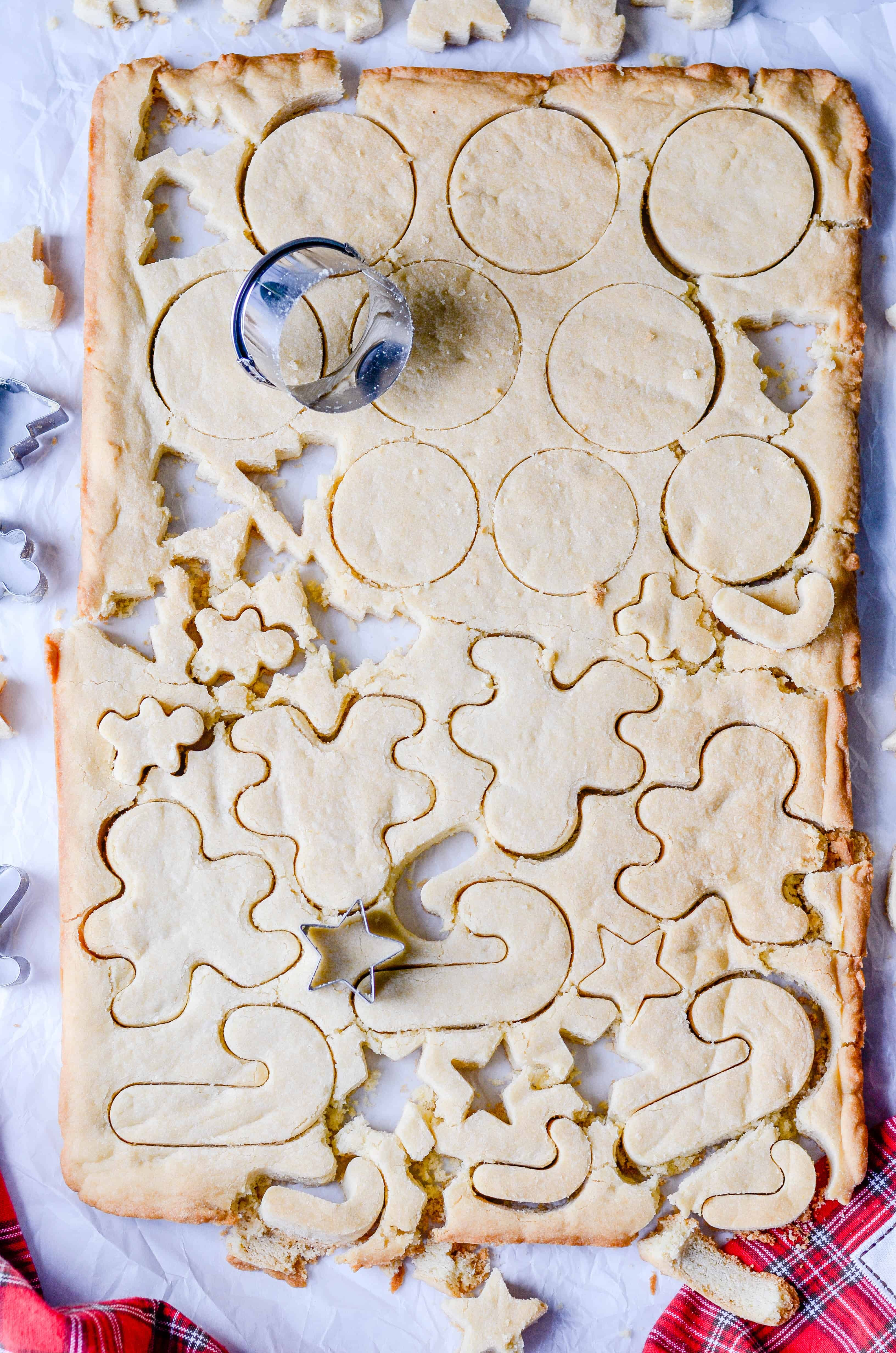 If you love sugar cookies but hate the process and the mess, you have to try this easy, fool-proof recipe for Shortcut Sugar Cookies!