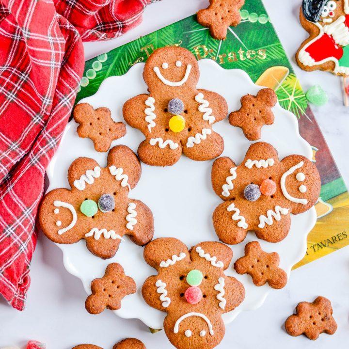 Homemade Graham Cracker Gingerbread Men