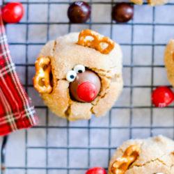 3 Quick & Easy Reindeer Treats: Cupcakes, Cookies, and Chocolate Bark!