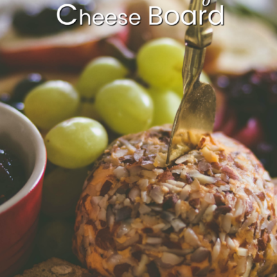 Everything you need to know about how to make an EASY holiday cheese board; including simple shortcuts, styling tips, and the one thing your cheese board shouldn't be without!