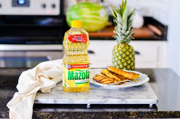Looking for a healthy swap for dessert this summer? Try this Brazilian Grilled Pineapple! It's simple to make and absolutely delicious as a side dish at dinner or even as a little something sweet afterwards.