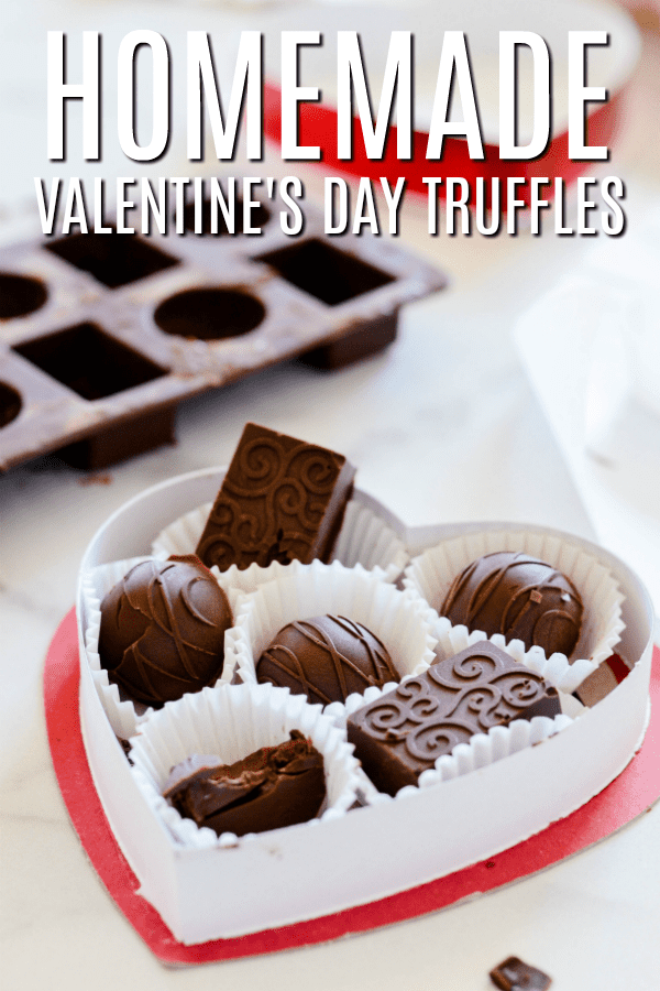 Homemade Valentine's Day Truffles are so much better than anything you'll find at the store!