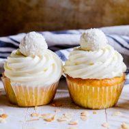 Coconut Cream Cupcakes