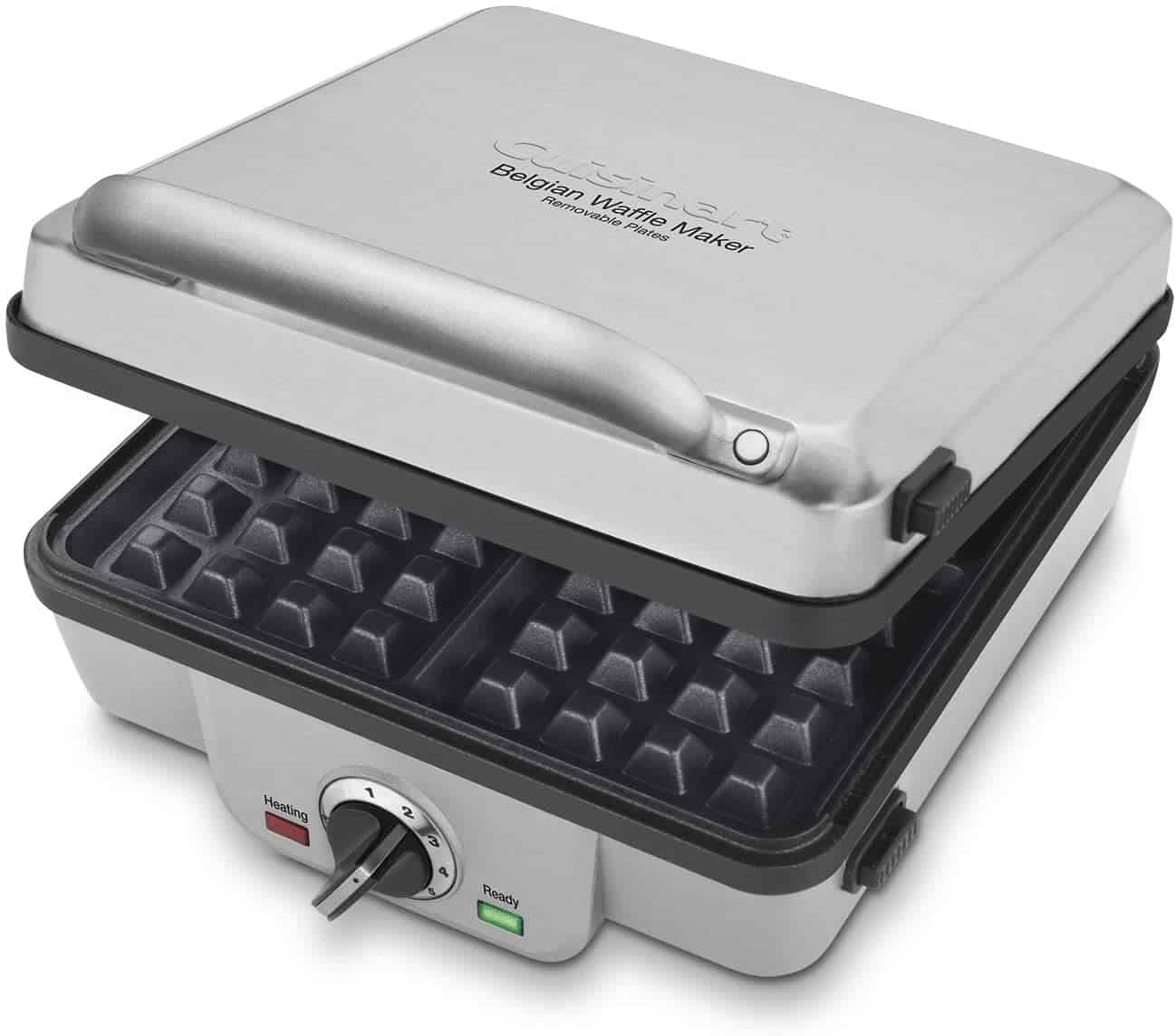 Waffle Iron with Removable Plates