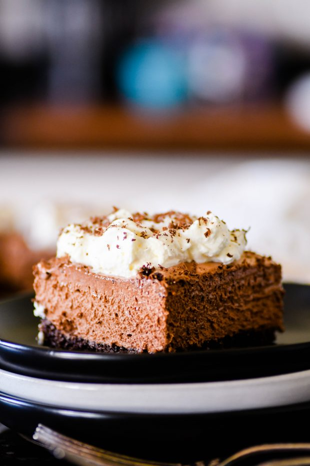 French Silk Pie Dip With Pie Crust Dippers