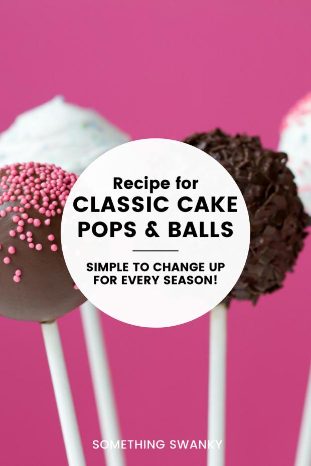 Basic Cake Ball (truffle) Recipe