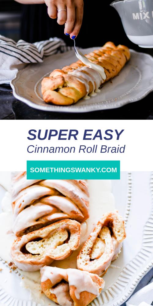 Mummy Cinnamon Roll Bread