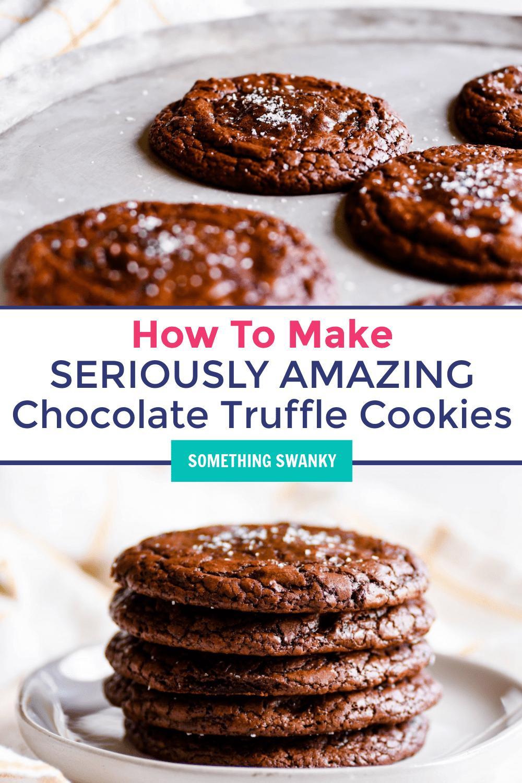 Chocolate Truffle Cookies Recipe