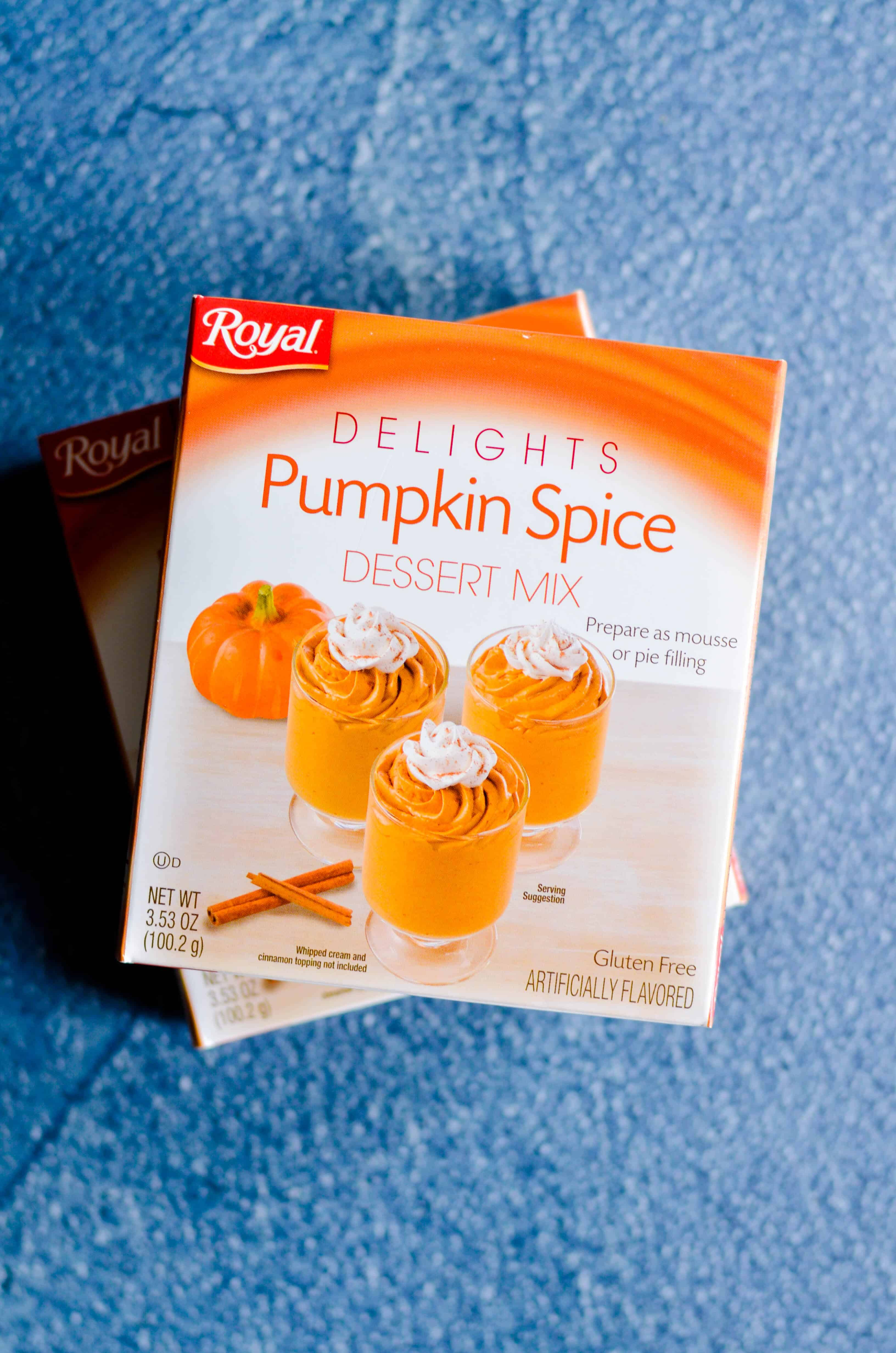 Where do I find pumpkin spice pudding mix? For the past several years, I've seen plenty of Jell-O brand pumpkin spice pudding mix at Target and Walmart. This is the first year in a really long time that I haven't been able to track it down!! I was panicking at first– because my very favorite pumpkin chocolate chip cookies HAS TO have pumpkin pudding mix in the dough.